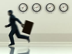 Running out of time in event planning