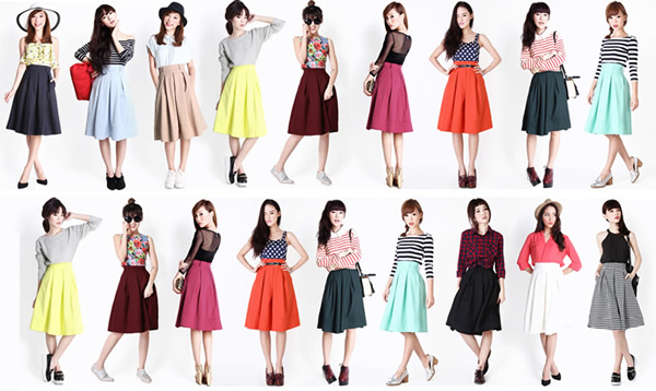 online fashion catalog